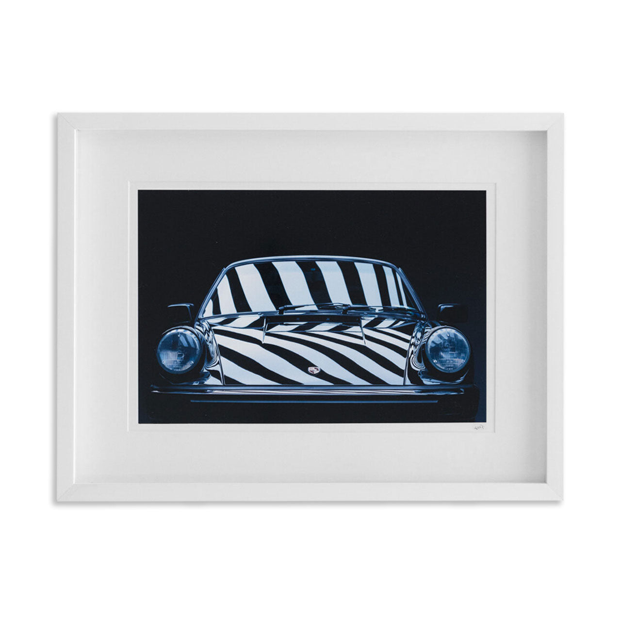 Porsche 911 G Body Framed Print