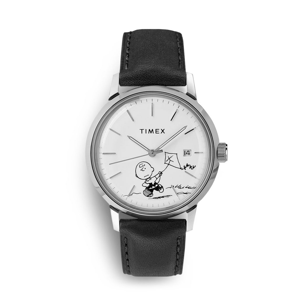 Timex x Peanuts Marlin Automatic Charlie Brown Watch