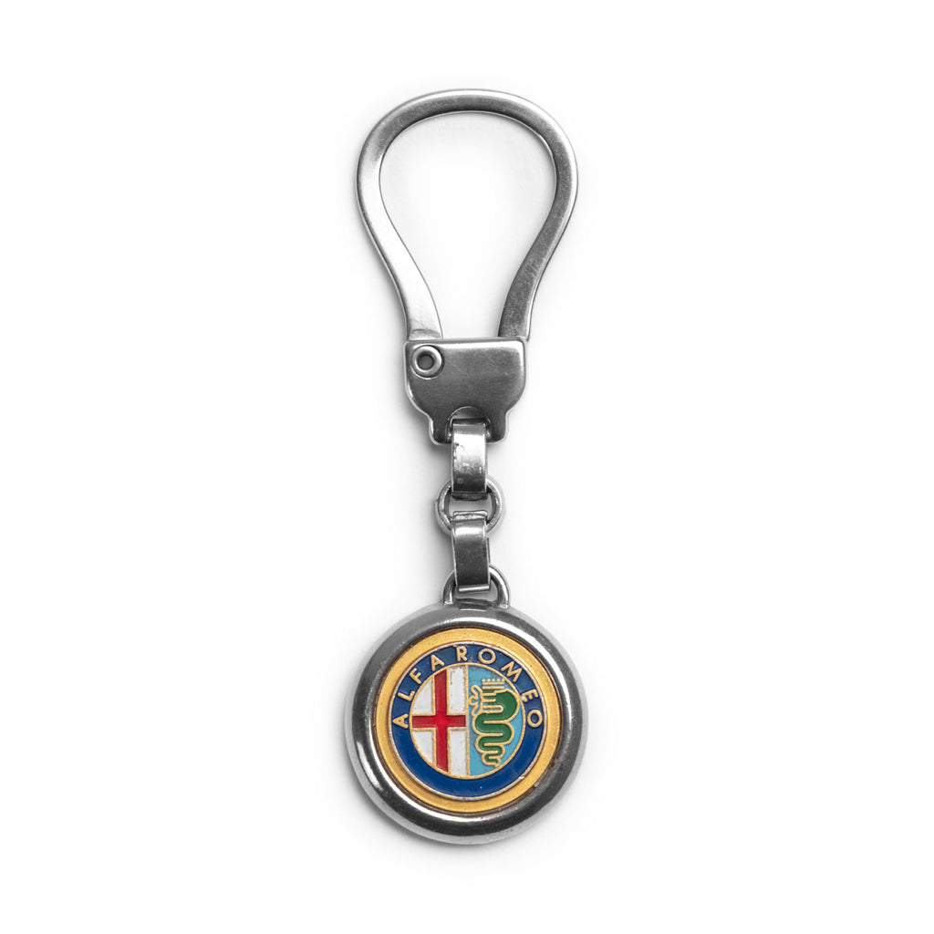 Mr. Cupps x Uncrate Vintage Alfa Romeo Keychain