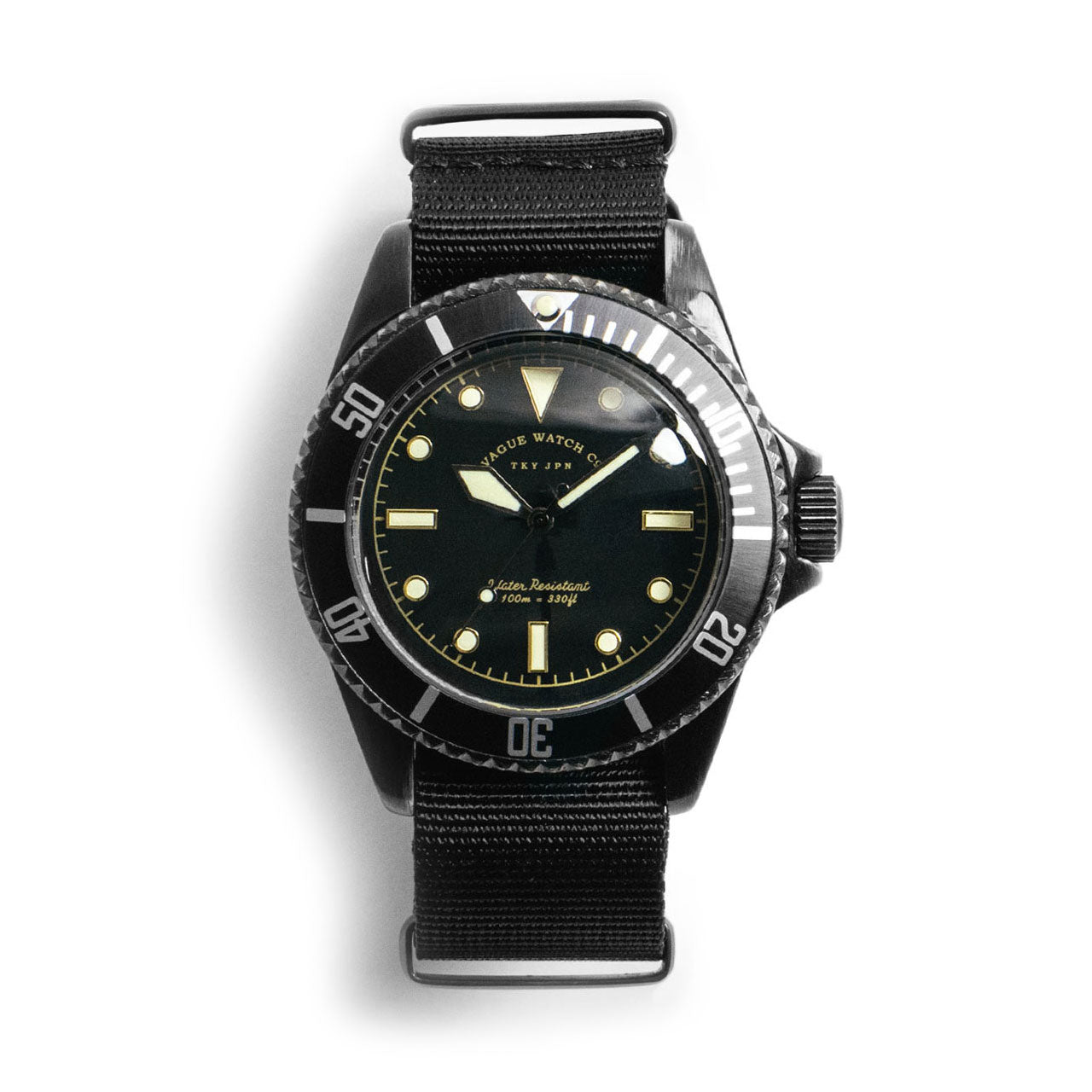 Vague Black Submariner Watch