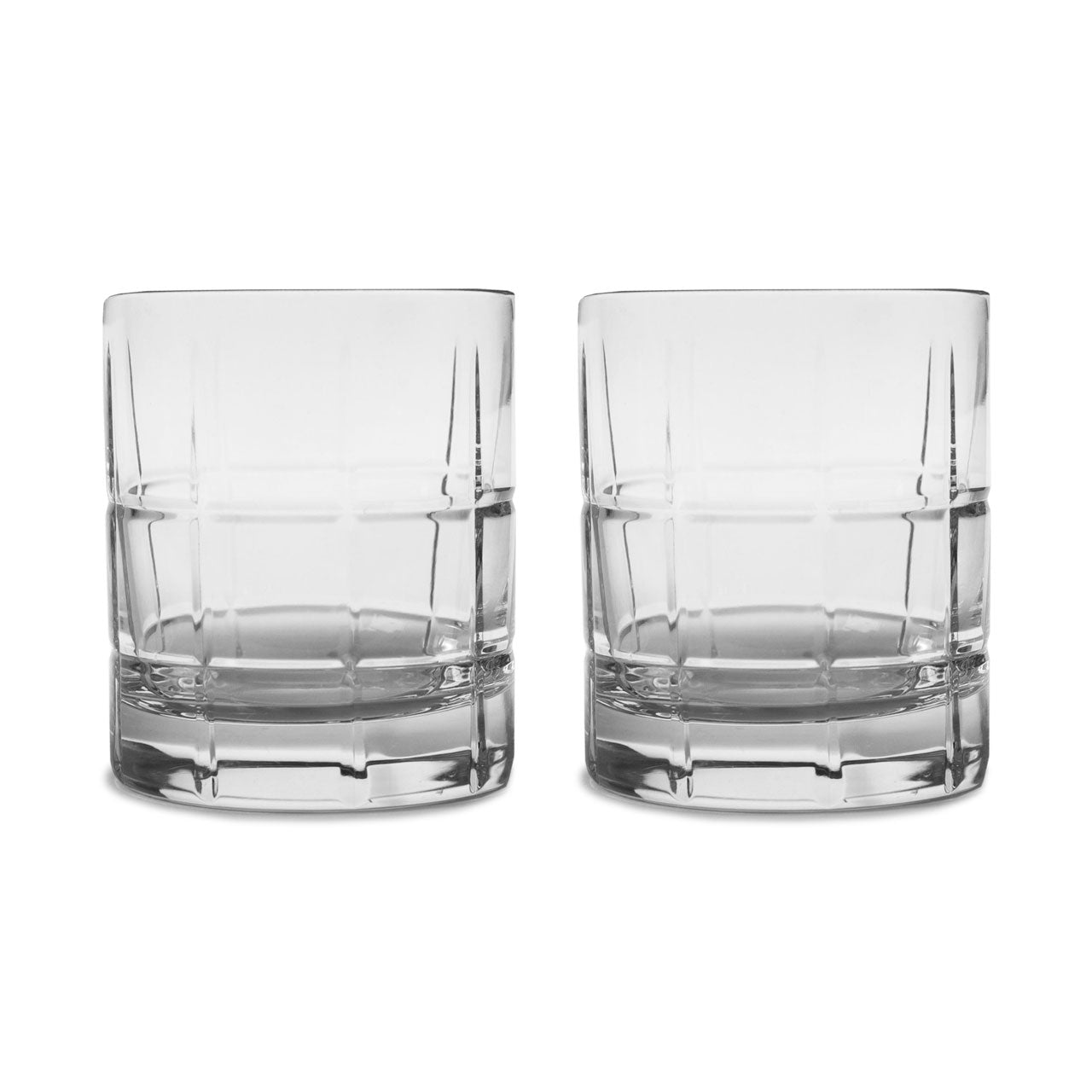Waterford Crystial Cluin Double Old Fashioned Glasses
