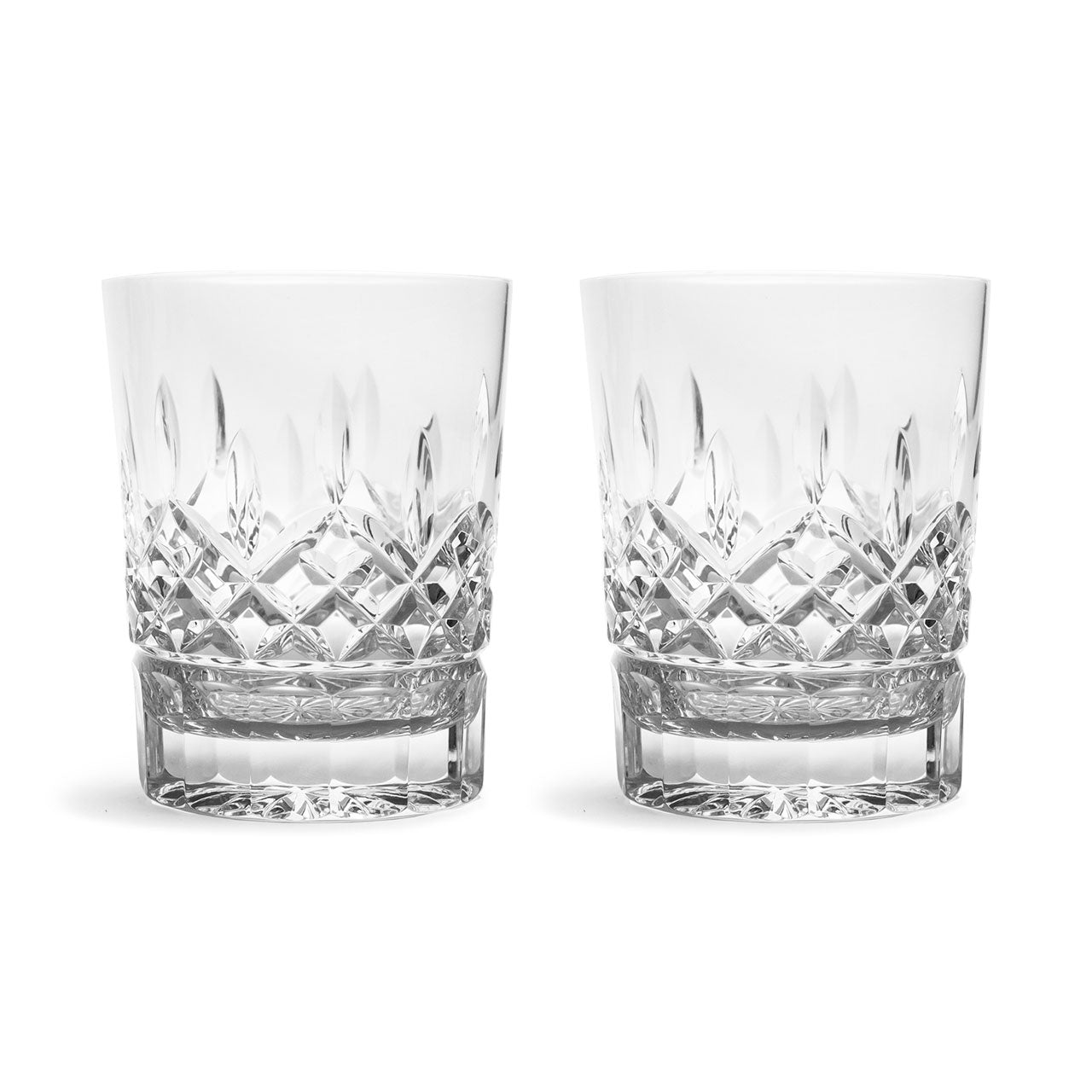 Waterford Lismore Double Old Fashioned Glasses