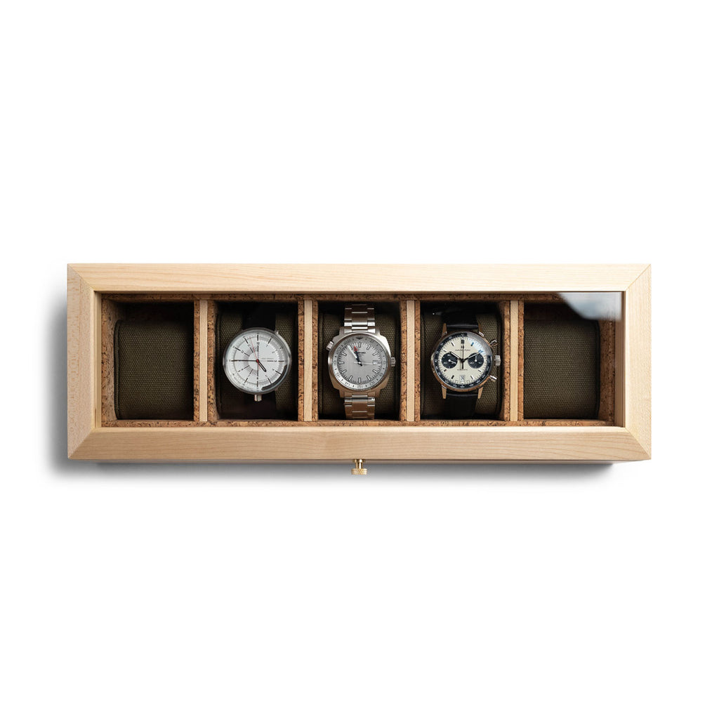 Wolf x Analog Shift Watch Box