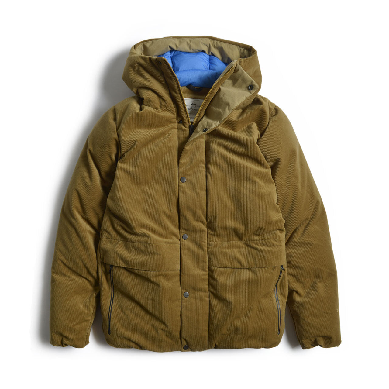 Woolrich Packable Corduroy Puffy Parka