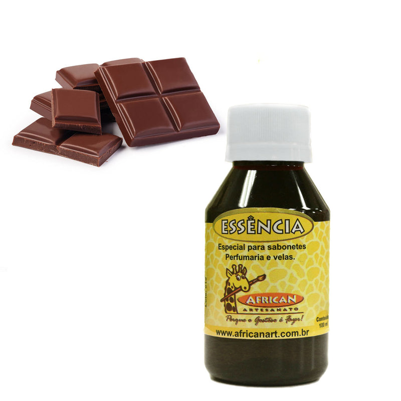 Essência African 100ml - Chocolate - AfricanArtesanato