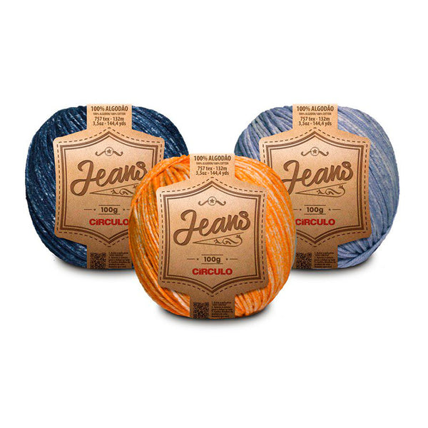 Fio Jeans 100g Circulo