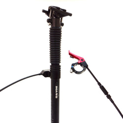 TMARS 419L or S 27.2//30.9//31.6M x 445mm MTB Bicycle Dropper Seatpost with Remote
