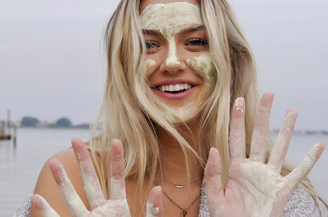 DIY Deep Pore Cleansing Matcha Face Mask