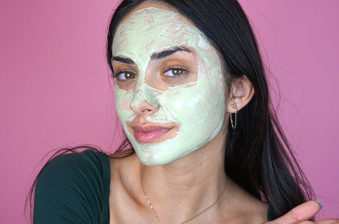 DIY Matcha Face Mask With Oil