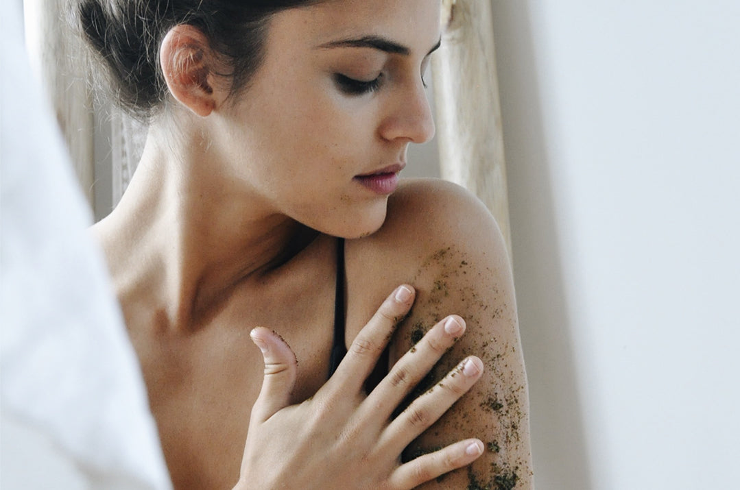 Seaweed Powder Body Scrub Recipe