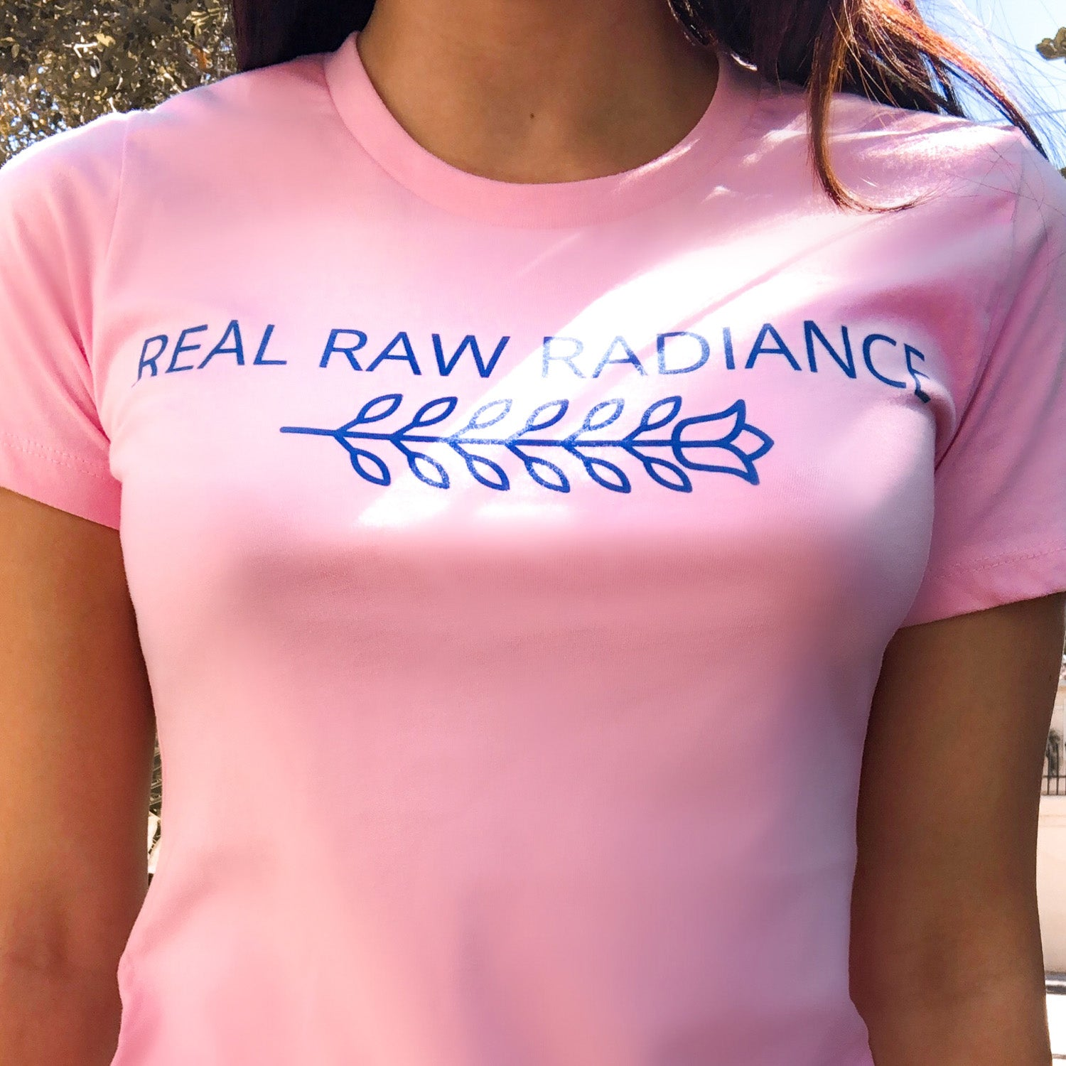 Real Raw Radiance Cotton T-Shirt