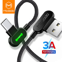 Load image into Gallery viewer, MCDODO 3m USB Type C Fast Charging USB C cable Type-c Data Cord Android Charger USB-C Micro USB Cable For Samsung S8 S9 Note 8