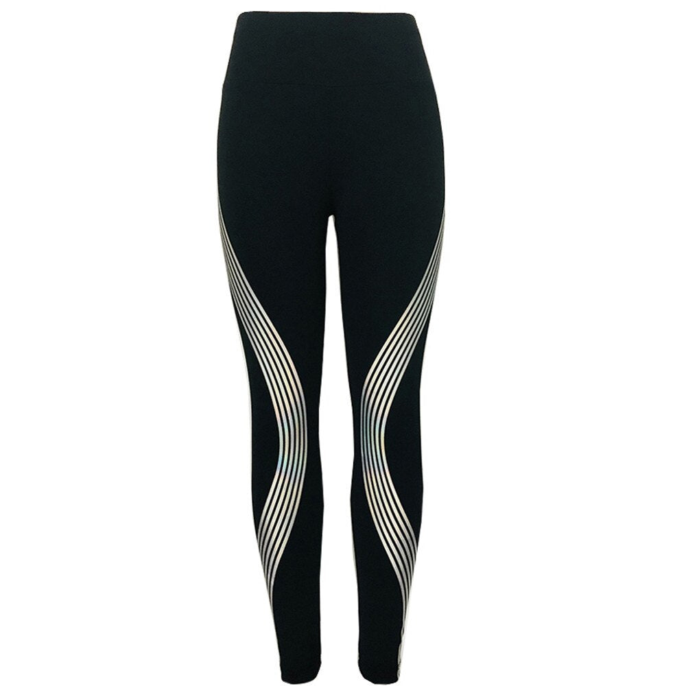 Women Slim High Waist Elasticity Leggings - Activewear Apparel