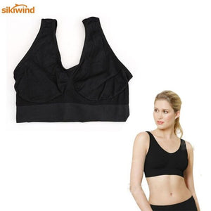 Women Push Up Workout Yoga Sports Bra Gym Top Academia Sport Active Wear Fitness Girls For Brassiere Female Sportswear M-XXL
