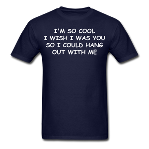 Adult T-Shirt - navy