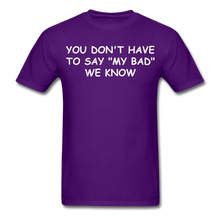 Load image into Gallery viewer, Adult T-Shirt - purple