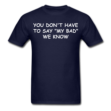 Load image into Gallery viewer, Adult T-Shirt - navy