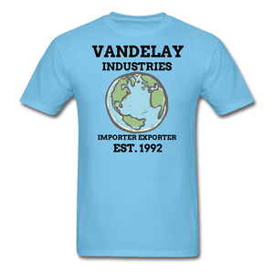 Adult T-Shirt - aquatic blue