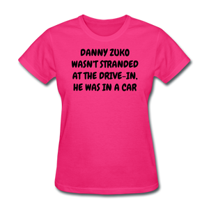 Ladies T-Shirt - fuchsia