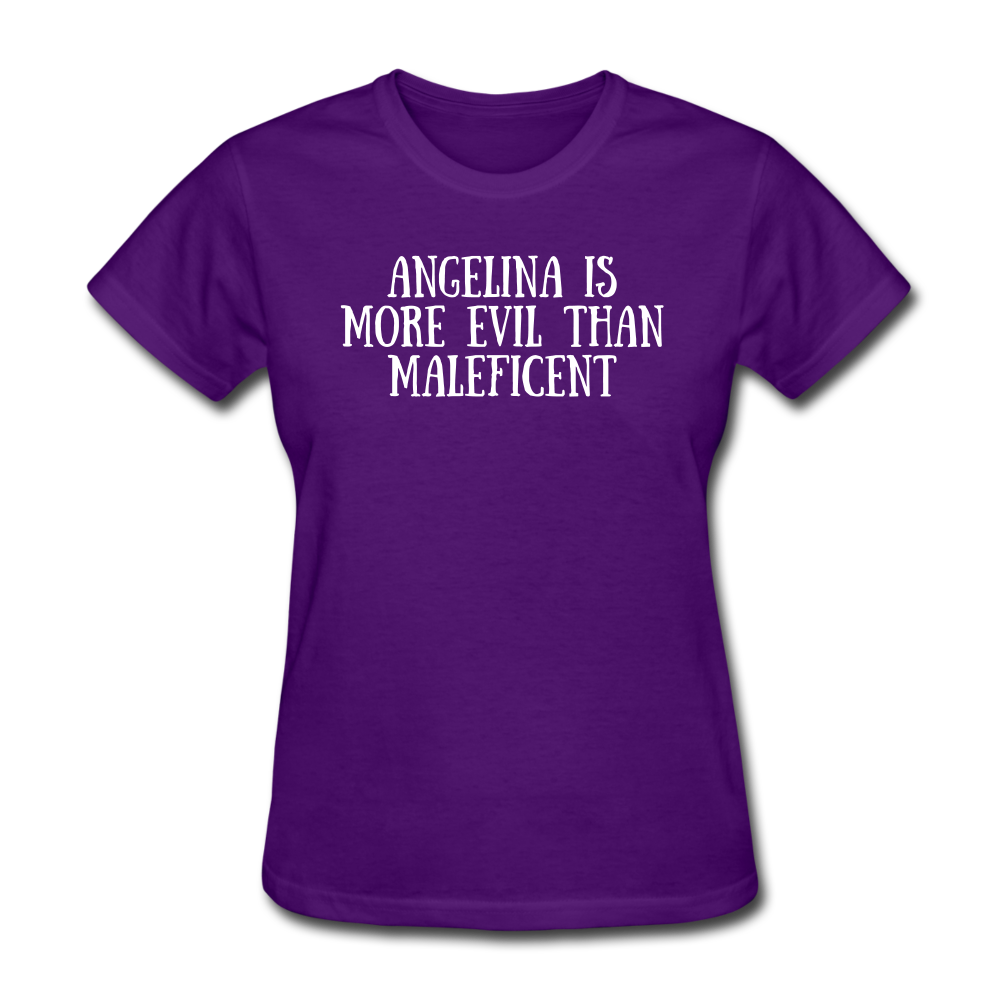 Ladies T-Shirt - purple