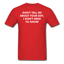 Load image into Gallery viewer, Adult T-Shirt - red