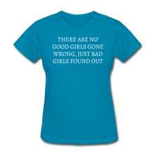 Load image into Gallery viewer, Ladies T-Shirt - turquoise