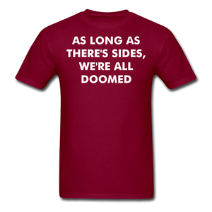 Adult T-Shirt - burgundy