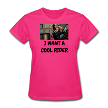 Load image into Gallery viewer, Ladies T-Shirt - fuchsia
