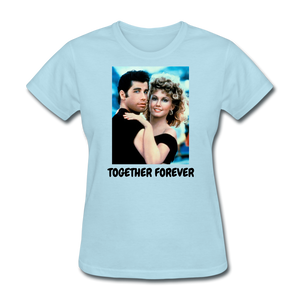 Ladies T-Shirt - powder blue