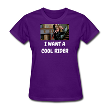 Load image into Gallery viewer, Ladies T-Shirt - purple