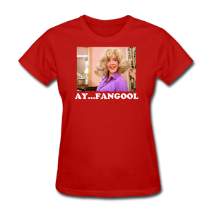 Ladies T-Shirt - red