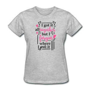 Ladies T-Shirt - heather gray