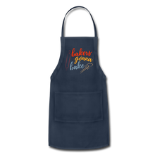 Load image into Gallery viewer, Adjustable Apron - navy