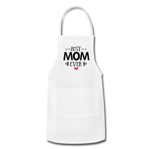 Adjustable Apron - white