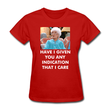 Load image into Gallery viewer, Ladies T-Shirt - red