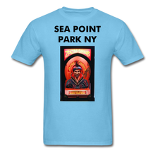 Load image into Gallery viewer, Adult T-Shirt - aquatic blue