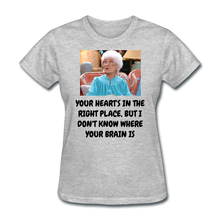 Load image into Gallery viewer, Ladies T-Shirt - heather gray