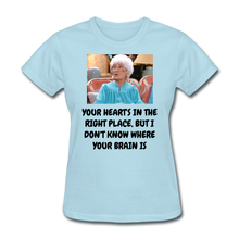 Load image into Gallery viewer, Ladies T-Shirt - powder blue