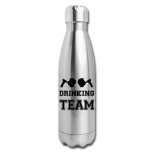 Load image into Gallery viewer, Insulated Stainless Steel Water Bottle - silver