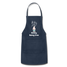 Load image into Gallery viewer, Adjustable Holiday Apron - navy