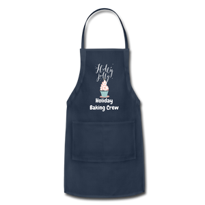 Adjustable Holiday Apron - navy