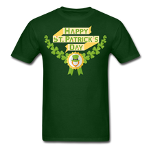 Load image into Gallery viewer, St. Patrick's Day T-Shirt - forest green