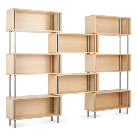 Chicago 8 Box Shelving Unit - New Colour!