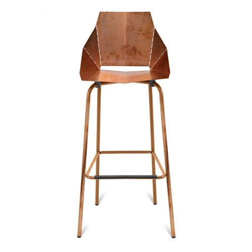 Copper Real Good Bar Stool