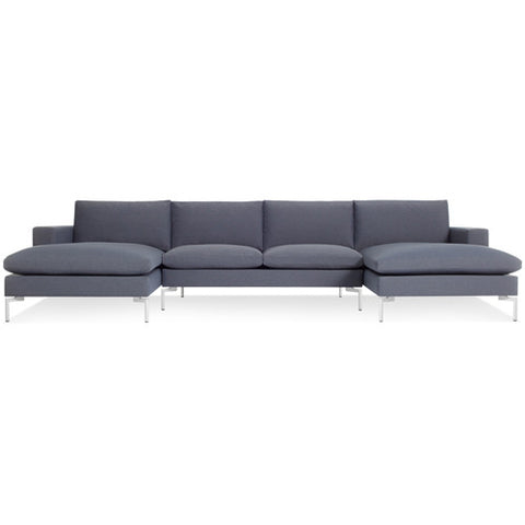 New Standard U Shaped Sectional Sofa - New Colour!