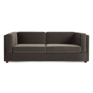 "Bank 80"" Velvet Sleeper Sofa"