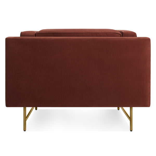 Bank Velvet Lounge Chair - 2 Colours!