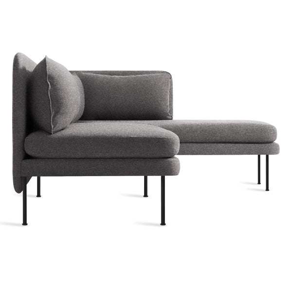 Bloke Armless Sofa with Right Arm Chaise - New Colour!