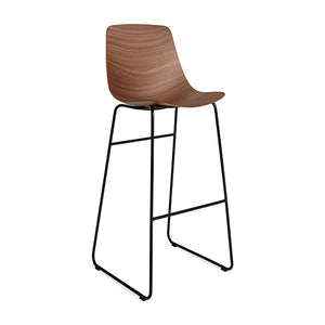Clean Cut Bar Stool - Sled Base