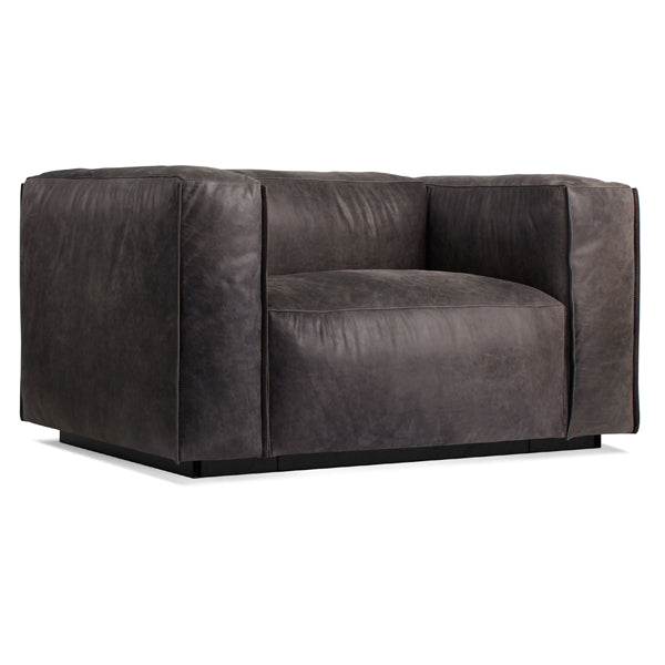 Cleon Leather Lounge Chair